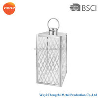 popular stainless steel hurricane lantern, hurricane lamp with different size
