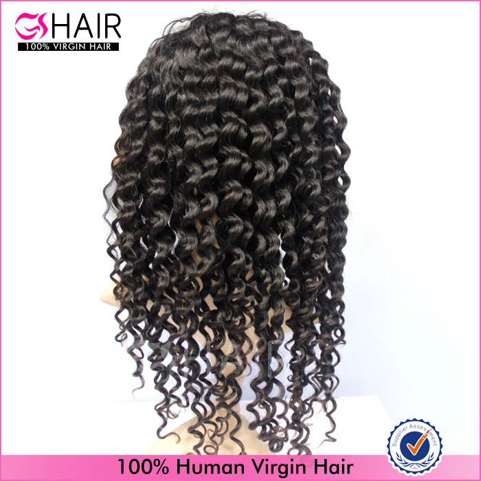 top quality brazilian kinky curly lace front wigs