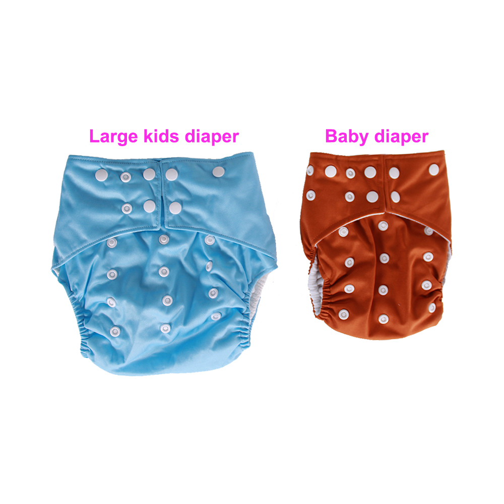 Microfiber Adult Kid Washable Diaper Large Thick Breathable Nappy Insert  Hot