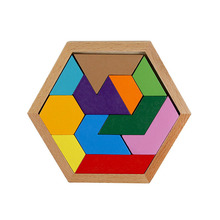 Wooden Montessori Materials 3d Geometry Puzzles Educational Toys