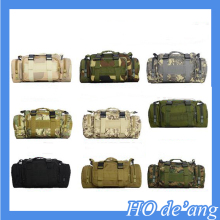 Hogift China factory olive military canvas shoulder bags/soldier backpack