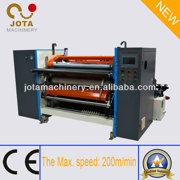 Hydraulic Loading Queuing Tickets Roll Slitting Rewinding Machine Manufacture