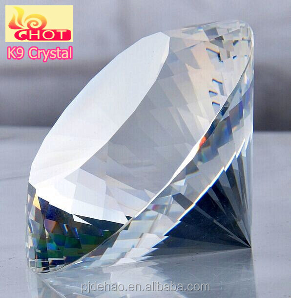 Wholesale Cheap Crystal Paperweight Diamond Shape