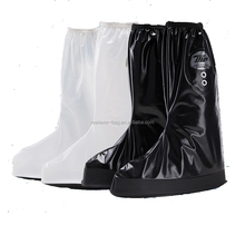 Motorcycle shoe covers men knee cycling boot rain covers