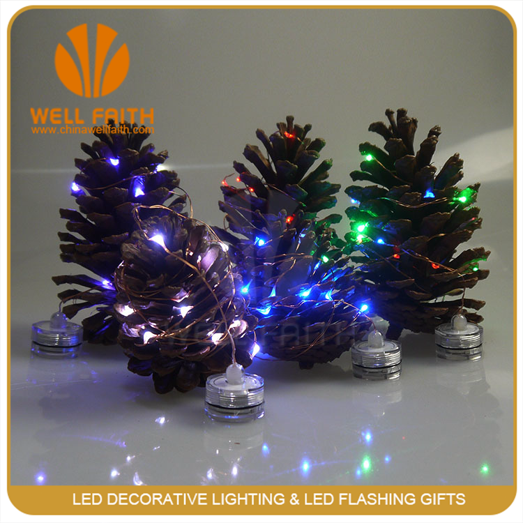Button Battery Led String Light Christmas Decorative Led Candle Light - Buy Merry Christmas ...