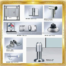 ss fittings 2014 Beautiful design SS304 stainless steel handle grip/glass door handle with competitive prices