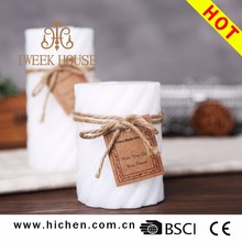 factory cheap price pilar candle for decoration