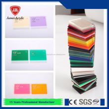 JM imported Lucite virgin material pmma panel acrylic board price with all colors