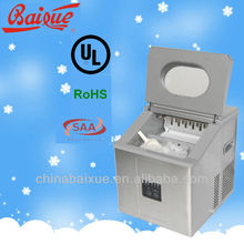 ZB15 Small Instant Reliable Bullet Desktop Household Ice Maker ZB15 15Kg/24h, Portable Ice Machine,RoHS,UL,SAA certificated