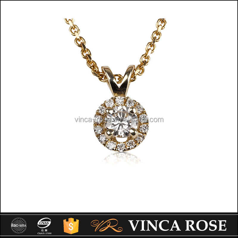 Multi-function 18k gold necklace pendant