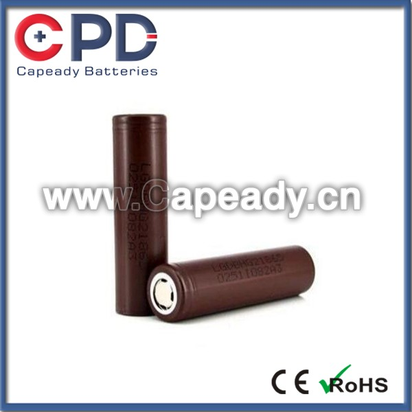 Wholesale for LG MG1/HG2/HD2/HE2/MJ1 Battery 18650 Li-ion Battery 3.7V Rechargeable Battery MJ1