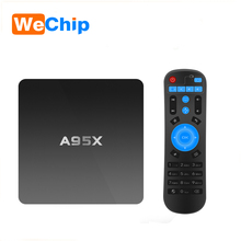 Golden Supplier A95X Android 5.1 smart TV Box Quad Core Amlogic S905 OTT TV Box