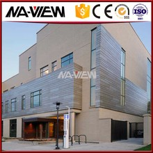 Competitive price building exterior wall cladding aluminum solid panel