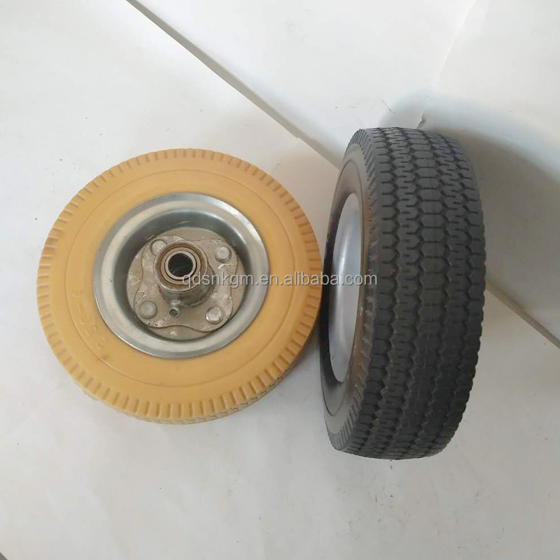 Customized Polyurethane Wheel Airless Tires For Sale