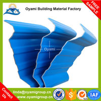 Factory direct supply low price red corrugated roofing tile