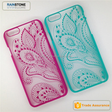 Retro Royal flower hard cover case for iphone 6 pc case