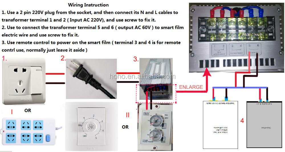 2018 novos produtos de vidro comutável PDLC matiz inteligente Eletrônico de controle Remoto inteligente de controle elétrico magia filme matiz inteligente