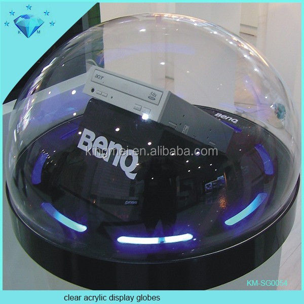 Large Clear Acrylic Display Dome plexiglass sphere globes