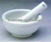 Industrial Laboratory Porcelain Mortars With Pestle Serials For High Refractoriness Analysis