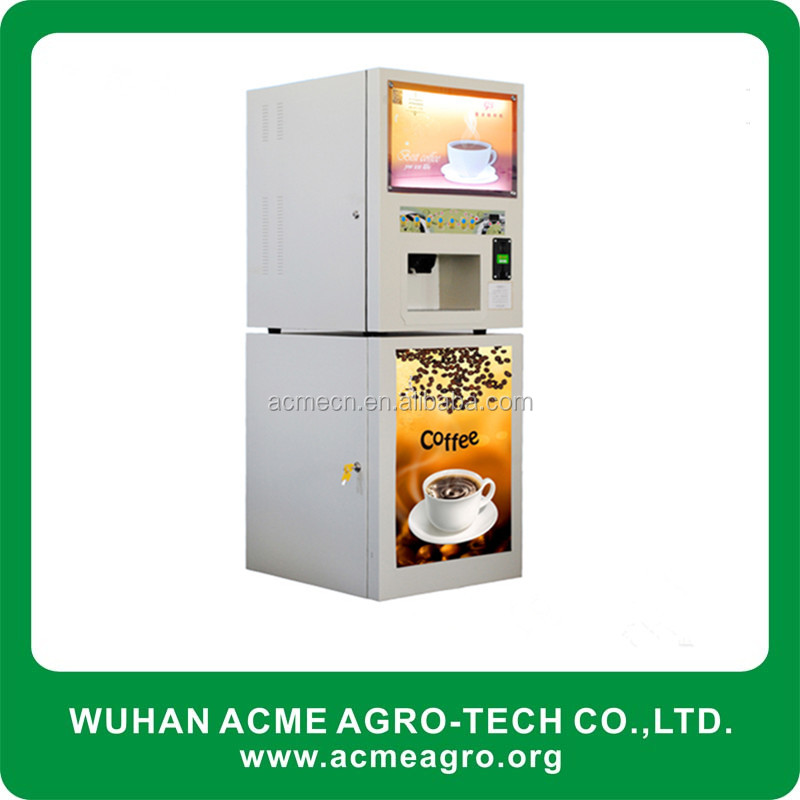 ice vending machine for sale with fresh brew coffee including instant beverage machine