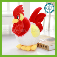 Soft toy manufacturer wholesale soft simulation chicken toys plush