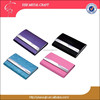 Christmas Gift items for Leather Pu Elegant purse size name card holder credit card case ladies women business card case Favors