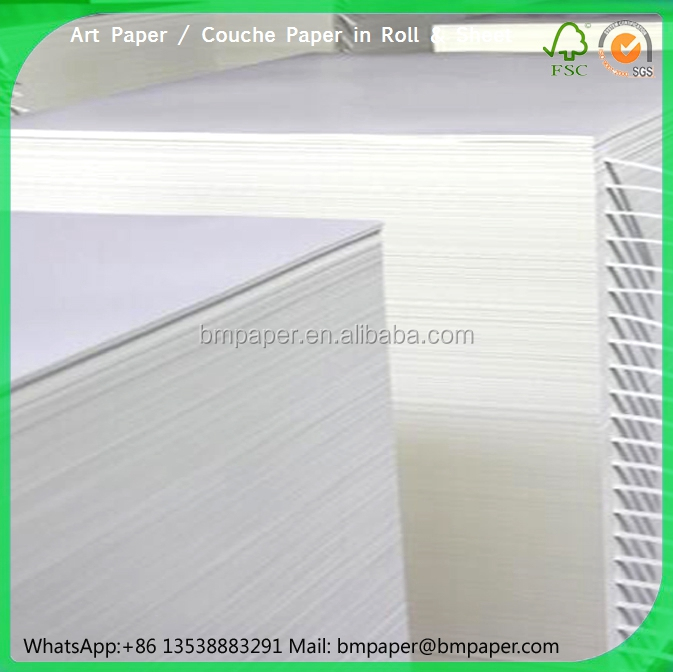 128g / 157g art paper for priting magazine / brochure