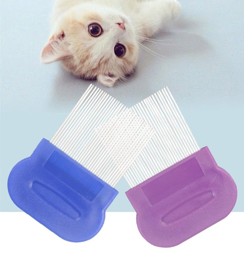 Pet flea comb electronic pet flea comb machine dog brush comb