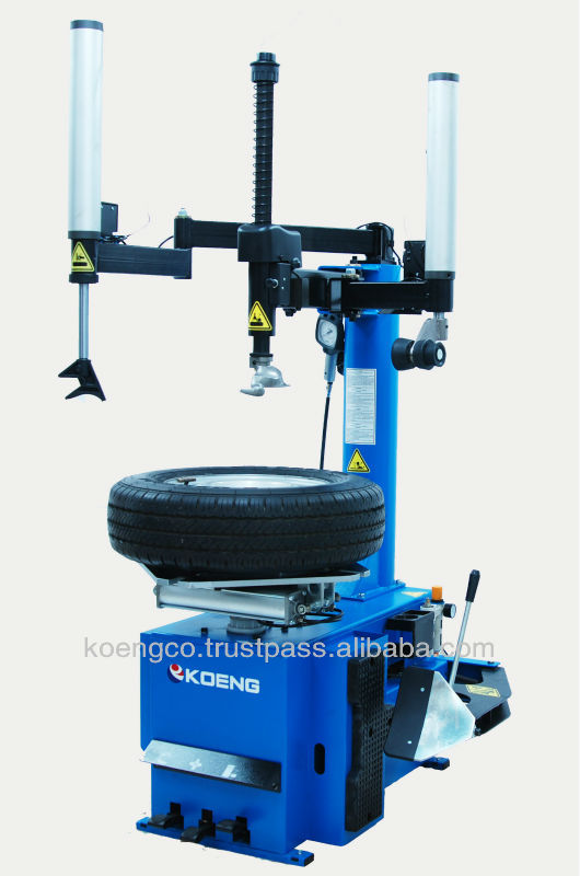 Tire changer for motorcycles