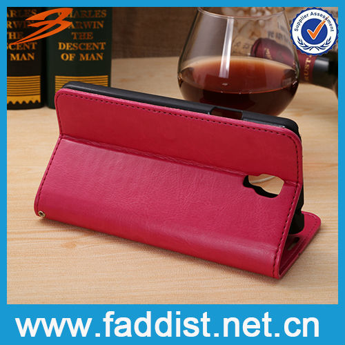 Protective leather for Note3 neo N7505 custom printed case
