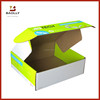 Custom corrugated carton shipping box with no glue
