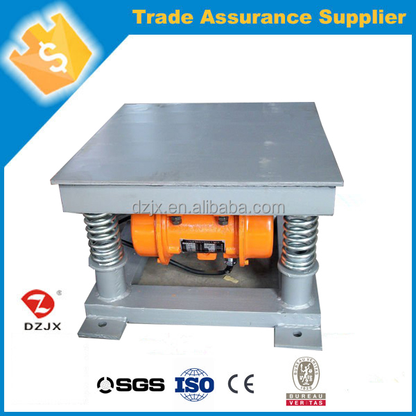 China Low cost gold vibration shaker table