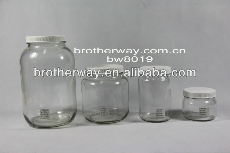 giant glass jars/bottles