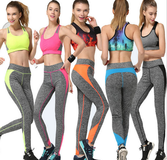 Five Colors Women's Active Leggings Quick Drying Fitness Trousers Outdoor Professional Running Legging Elastic Sport legging
