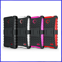 Hot Selling Heavy Duty Shock Proof Silicone Case For Nokia Lumia 520
