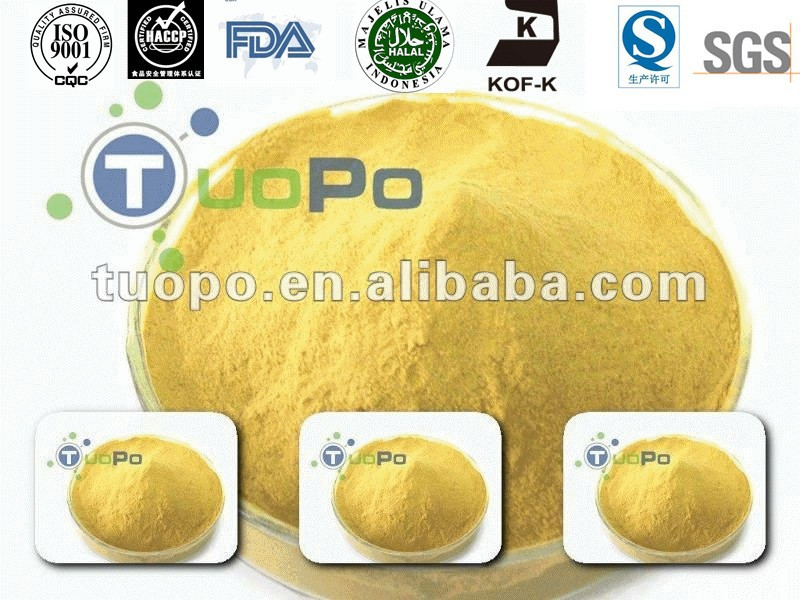 Hot sale Tangshan TOPBIO brewers yeast powder, cattle feed yeast, inactive dried yeast,