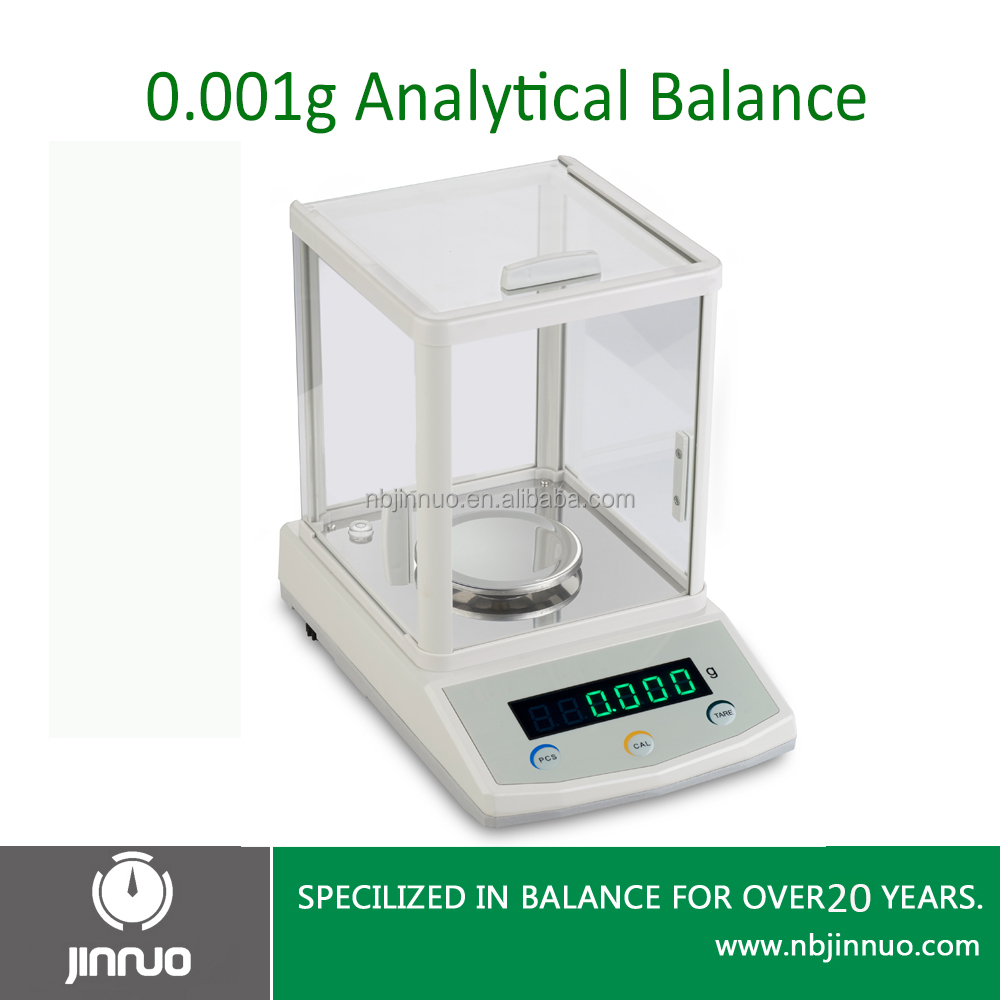 jinnuo electronic balance LED display 300g 0.001g high precision jewels scale digital balance laboratory electronic balance