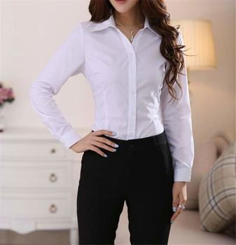 Modern style unique design long sleeve shirt for women on sale