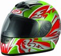 full face helmet (DP801-3 green)
