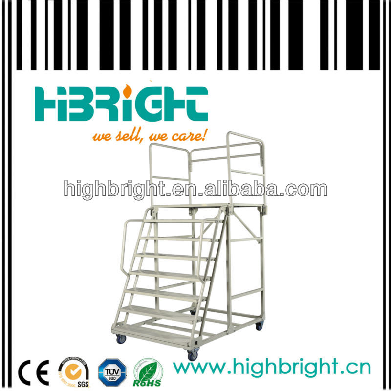 moveable platform ladder for judgement