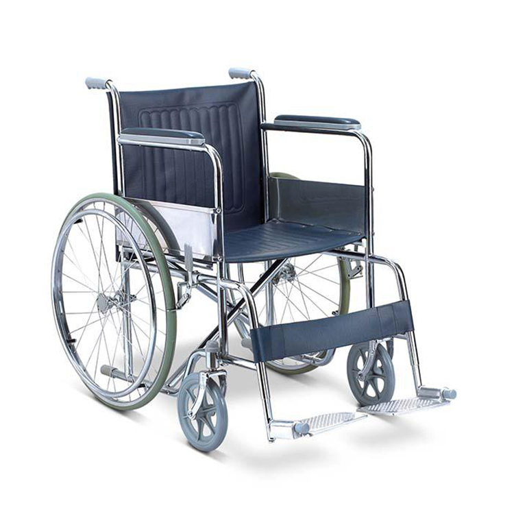 alibaba wheelchair made in China active hospital steel wheel chair