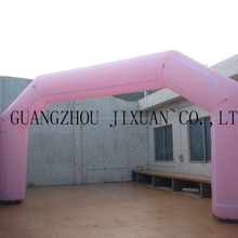 pink color inflatable arch rental for sale