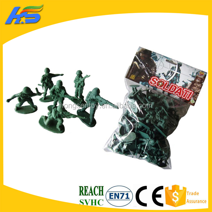 Hot sale world war II plastic toy soldiers military game model