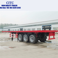 Customized Factory Price 60Tons 3 Axle Utility Semi Truck trailer for sale