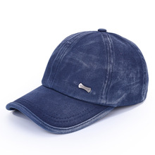 OEM vintage suede baseball cap garment washed baseball cap with ear flaps