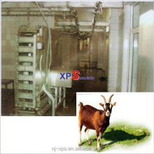Goat Sheep Slaughtering Equipment Line: Electric decorticator (Sheep Peeling Machine) for buck ( goat caprine toggenburg )