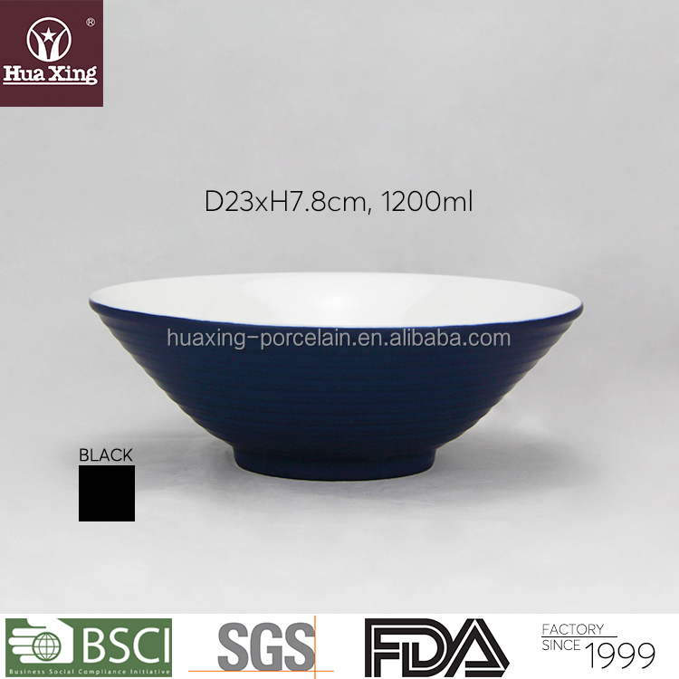 new products 2017 porcelain dinnerware noodle salad ceremic bowls for sale