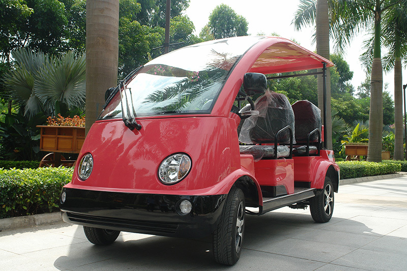 CE approved 4 seater electric cars for city DN-4(China)