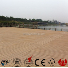 crack-resistant waterproof co-extrusion type Wood Plastic Composite wpc decking outdoor