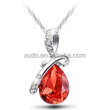 free shipping <strong>necklace</strong> jewelries crystal angel pendant <strong>necklace</strong> 6 colors available